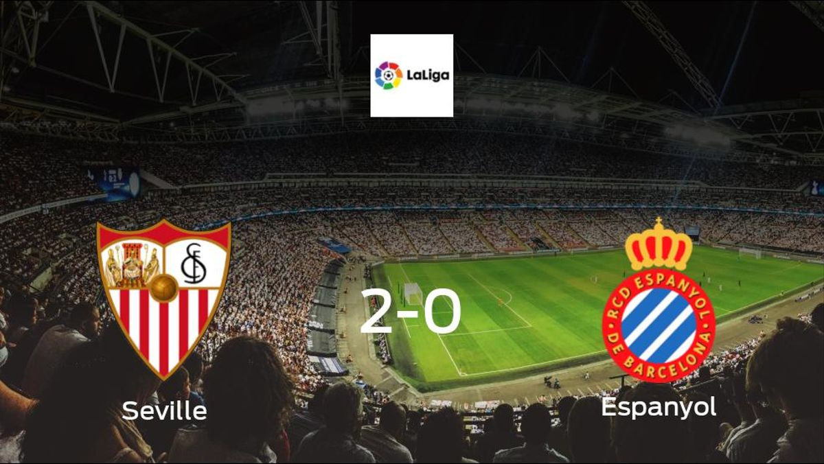 Visiting Espanyol left with nothing after Seville take all 3 points