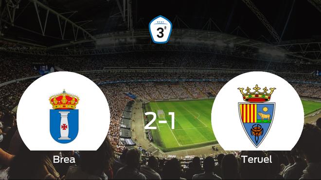 Los tres puntos se quedan en casa: Brea 2-1 Teruel