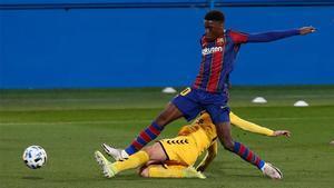 Ilaix Moriba debe tener minutos y el Barça B es su sitio