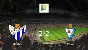 El Sporting de Huelva Femenino y el Eibar Femenino se reparten los puntos tras su empate a dos