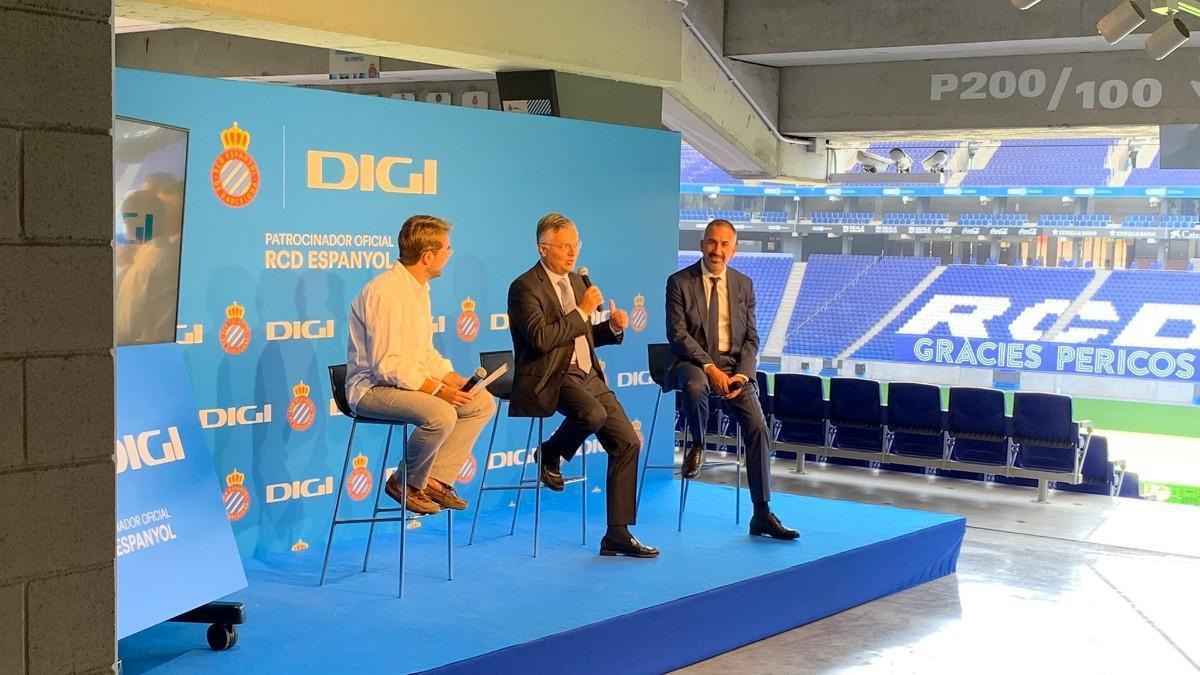 Acto de presentación del acuerdo con Digi