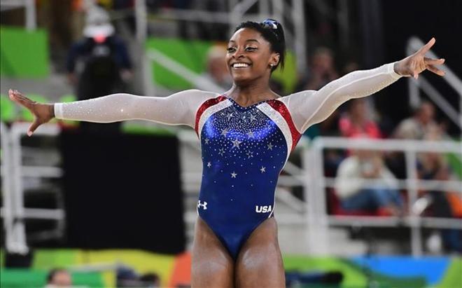 Simone Biles logró cinco medallas en Río