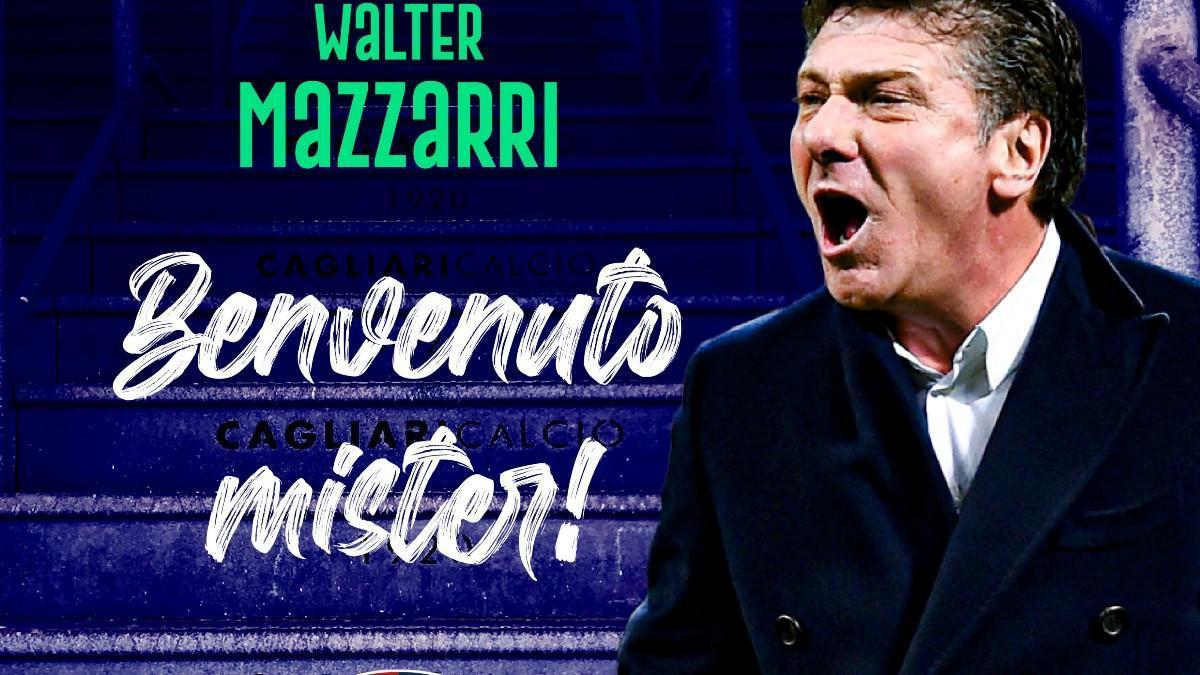 Mazzarri, nuevo entrenador del Cagliari