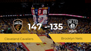 Cleveland Cavaliers se impone por 147-135 frente a Brooklyn Nets