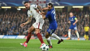 LACHAMPIONS   Chelsea - Roma (3-3)