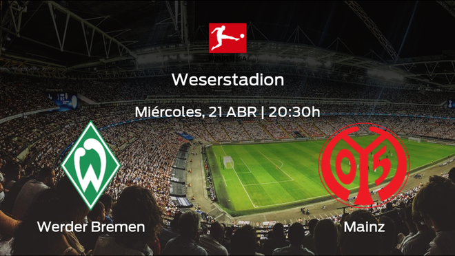 Previa del partido: Werder Bremen - Mainz 05