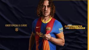 El Barça presenta su camiseta especial para el clásico
