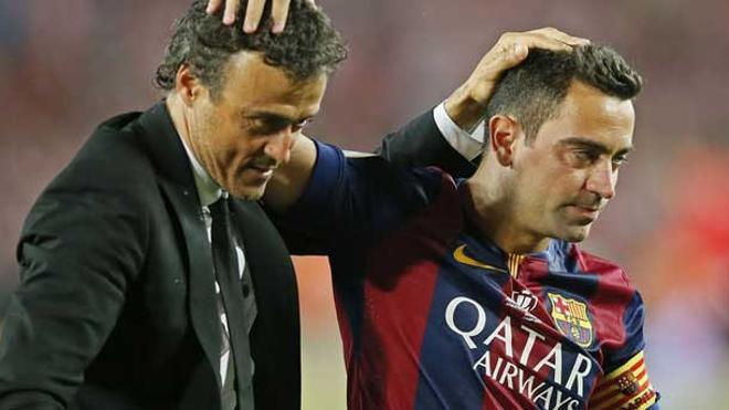 Xavi: Luis Enrique es un entrenador extraordinario