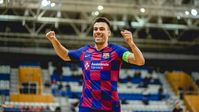 Sergio Lozano, capitán del Barça de fútbol sala