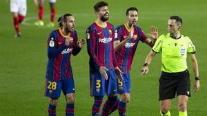 Las tres polémicas acciones dentro del área que el Barça protestó