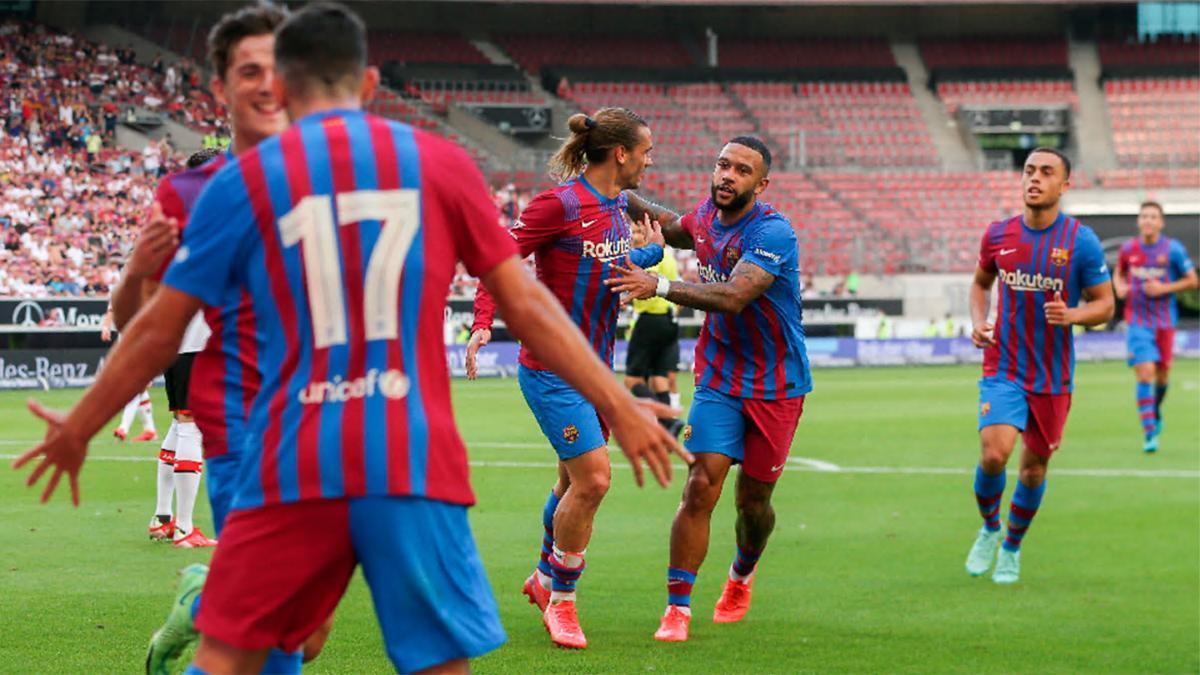 Revive los mejores momentos de la victoria del Barça ante el Stuttgart