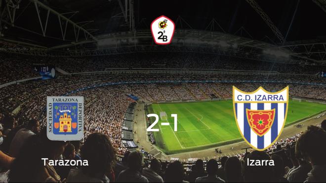 El Tarazona vence 2-1 al Izarra y se lleva los tres puntos