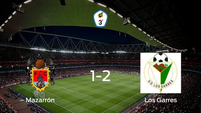 El Los Garres se lleva la victoria tras derrotar 1-2 al Mazarrón FC