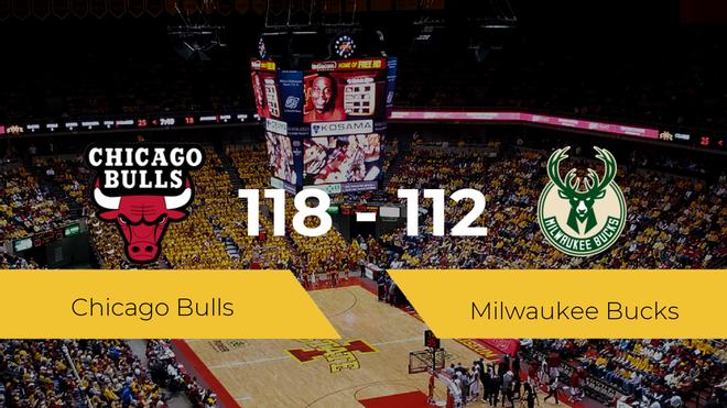 Chicago Bulls vence a Milwaukee Bucks (118-112)
