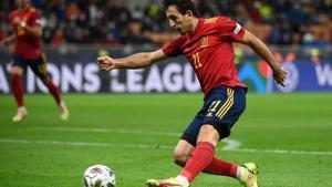 Oyarzabal es pieza básica para la selección española de Luis Enrique