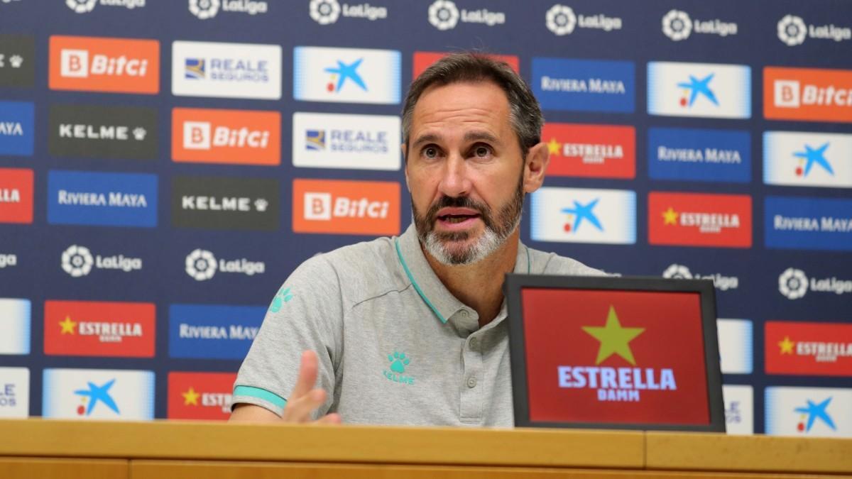Vicente Moreno: Debemos empezar, mantenernos y acabar fuertes