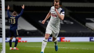 El doblete de Kane contra el Dinamo de Zagreb