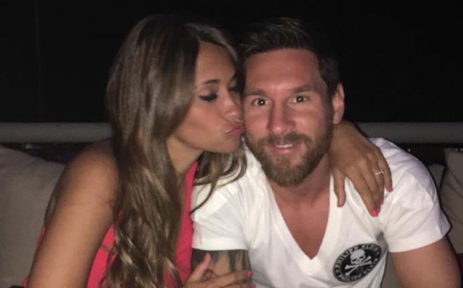 Messi et Antonella, une belle histoire d'amour