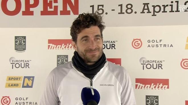 Alejandro Cañizares pasó mucho frío en Austria, pero sigue lider tras el segundo día