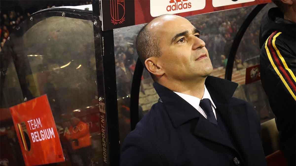 Bélgica renueva a Roberto Martínez hasta 2022