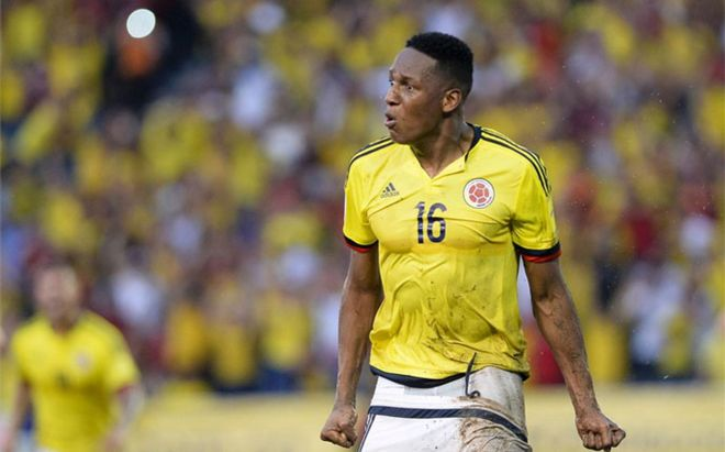 Yerri Mina, en la agenda del Barcelona y del Manchester City