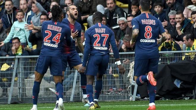 En Nantes el PSG no pudo celebrar el alirón