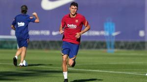 Jorge Cuenca sigue en dinámica de primer equipo