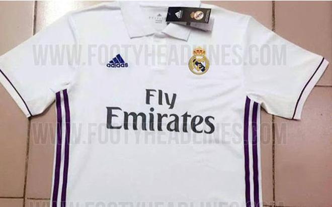 Así es la camiseta de la próxima temporada del Real Madrid