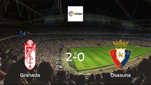 Granada beat Osasuna 2-0 at the Estadio Nuevo Los Carmenes