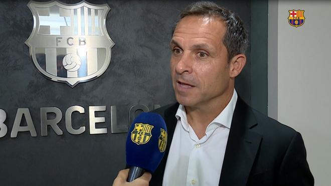 Sergi Barjuan: Estoy muy contento