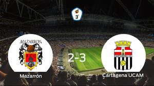 El Cartagena F.C. UCAM se lleva los tres puntos ante el Mazarrón FC (2-3)