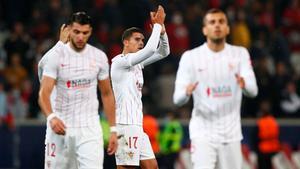 El resumen del partido entre el Lille y el Sevilla