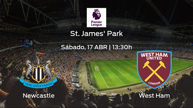 Previa del encuentro: el Newcastle United recibe al West Ham en la trigésimo segunda jornada