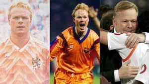 Tres momentos de éxitos de Ronald Koeman: la Eurocopa de 1988, Wembley92 y la Copa del Rey de 2008 con el Valencia