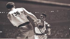 Cassius Clay en las olimpiadas de 1960