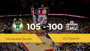 Triunfo de Milwaukee Bucks ante LA Clippers por 105-100