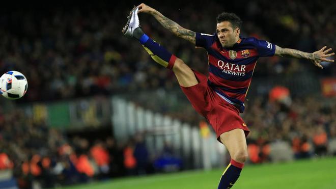 Alves estará siempre en la memoria del barcelonismo