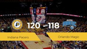 Indiana Pacers se impone por 120-118 frente a Orlando Magic
