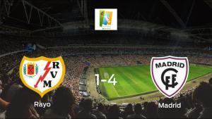 El Madrid CFF le arrebata los tres puntos al Rayo Vallecano Femenino (1-4)