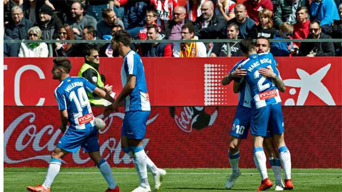 Darder dio los tres puntos al Espanyol en Montilivi