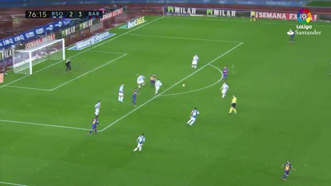 LALIGA   Real Sociedad - FCBarcelona (2-4): La excursión de Vermaelen