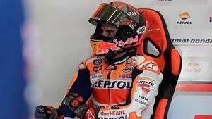 Marc Márquez en una imagen en Jerez durante la temporada pasada