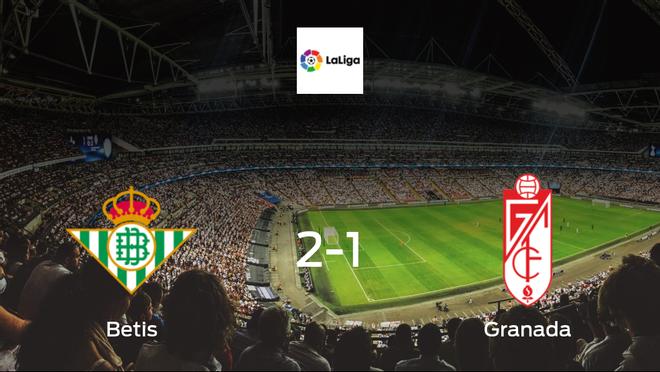 Real Betis squeeze past Granada in 2-1 win at the Estadio Benito Villamarin