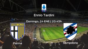 Previa del encuentro: el Parma recibe a la Sampdoria en la decimonovena jornada