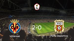 2-0: El Villarreal B se impone a la Peña Deportiva en casa