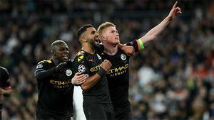 De Bruyne sentenció al Madrid desde el punto de penalti