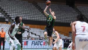 Dimitrijevic, en el duelo de la primera vuelta entre Baskonia y Penya