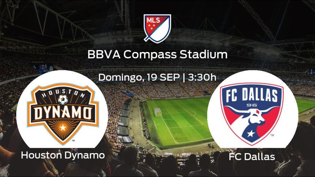Previa del partido de la jornada 34: Houston Dynamo - FC Dallas
