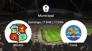 Jornada 13 de la Tercera División: previa del duelo Moralo - Coria