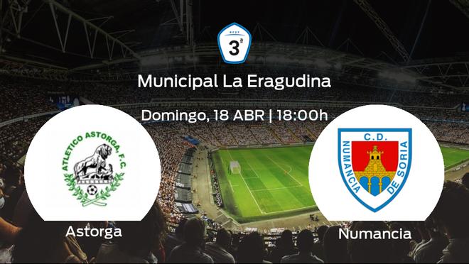Previa del encuentro de la jornada 3: At. Astorga - Numancia B